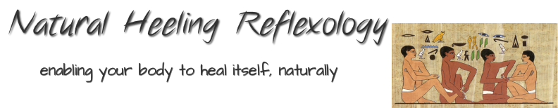 Natural Heeling Reflexology.Enabling your body to heal itself, naturally.